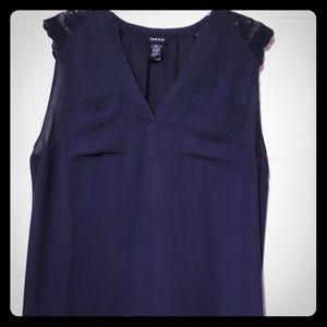 Torrid blue blouse